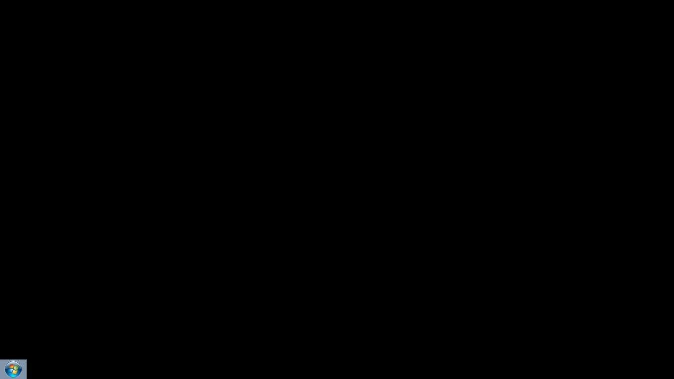 Black screen - 1
