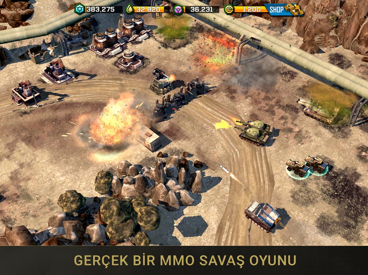 War Commander: Rogue Assault Android Oyun