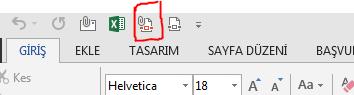 pdf olarak gönder butonu