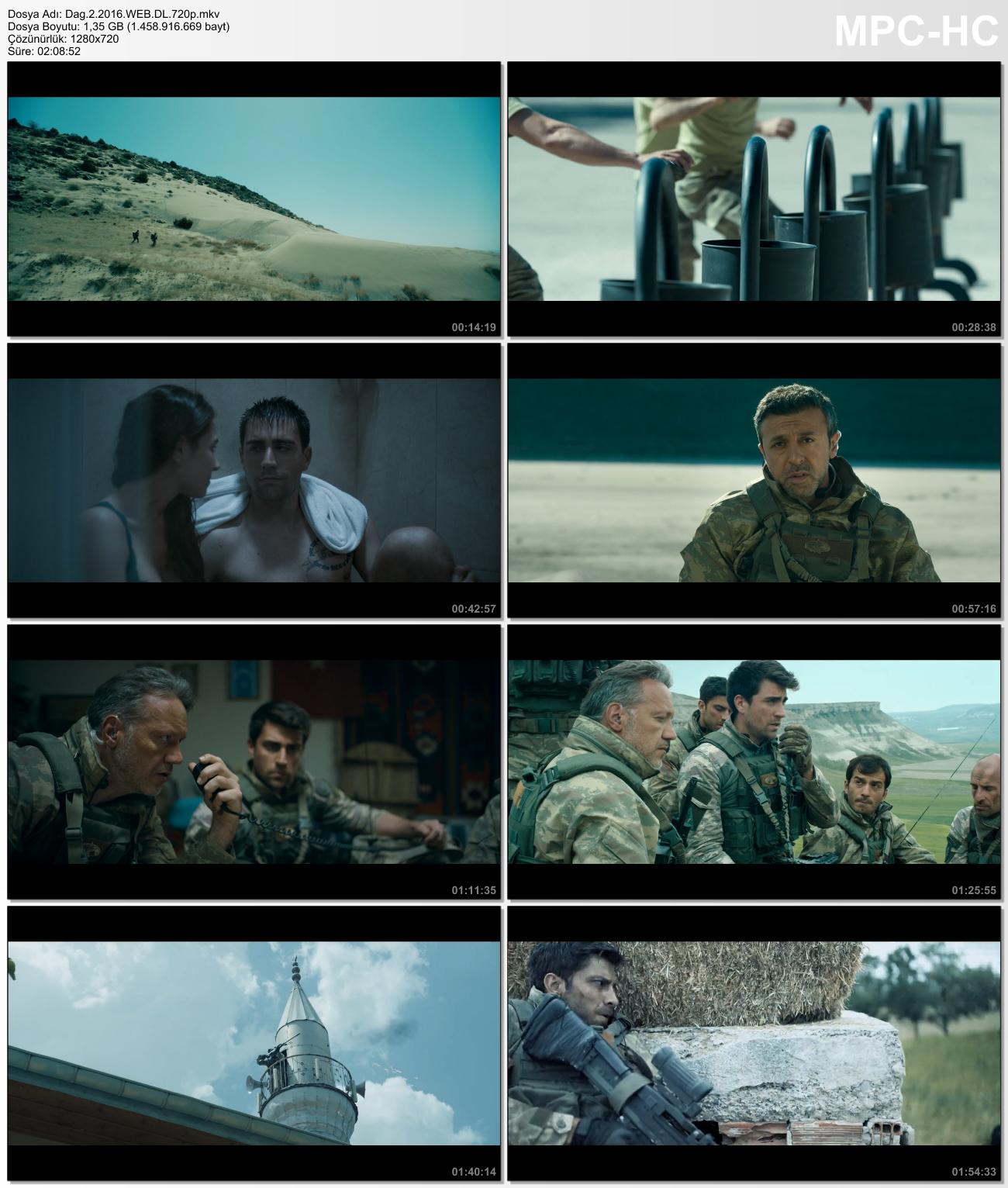 Dağ 2 2016 (Yerli Film) WEB-DL 720p - Orjinal - Reklamsız