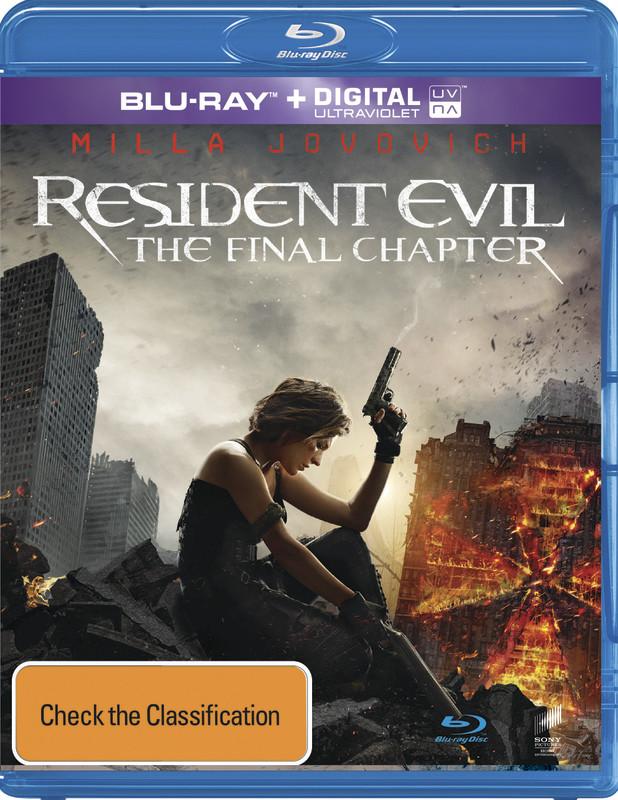 Resident Evil: Son Bölüm - Resident Evil: The Final Chapter - 2017 - 720p (TR-ENG)