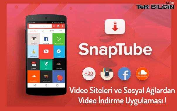 Video Siteleri ve Sosyal Ağlardan Video İndirme Uygulaması ! Android Mobil