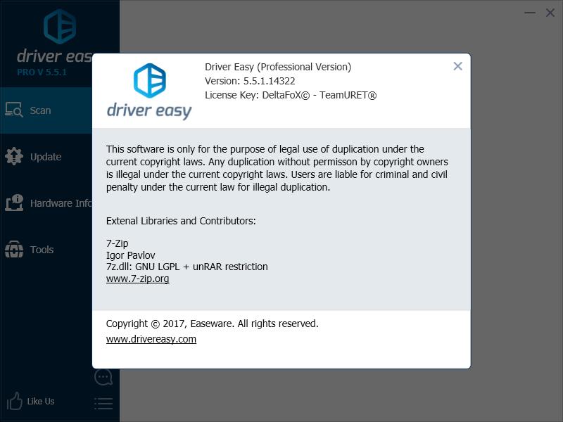 DriverEasy Professional 5.5.4.17697 | Katılımsız