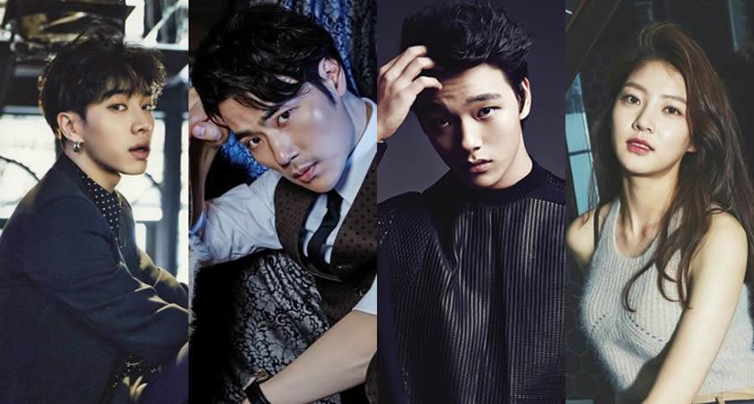 "Kim Kang-Woo, Yeo Jin-Goo, Lee Ki-Kwang ""Circle""de Rol Alacak"