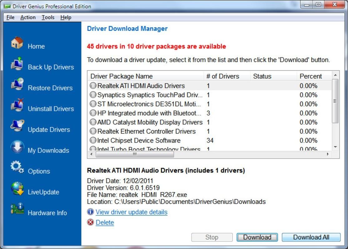 Driver Genius Professional 20.0.0.128   Katılımsız cover