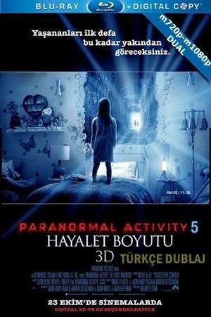 Paranormal Activity 5: Hayalet Boyutu 2015 m720p-m1080p Mkv DuaL TR-EN – Tek Link