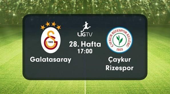 Galatasaray – Çaykur Rizespor (09.04.2016) | HDTV 720p | Full Maç – VKRG
