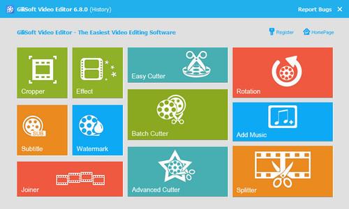 GiliSoft Video Editor 7.4.0 - Portable