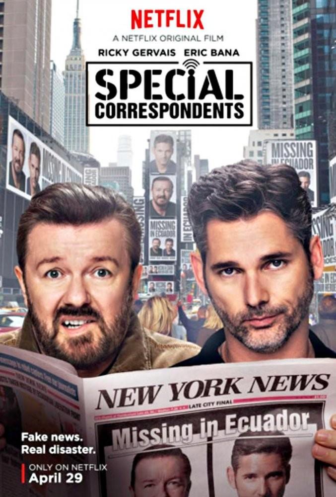 Special Correspondents (2016) - türkçe altyazılı film indir