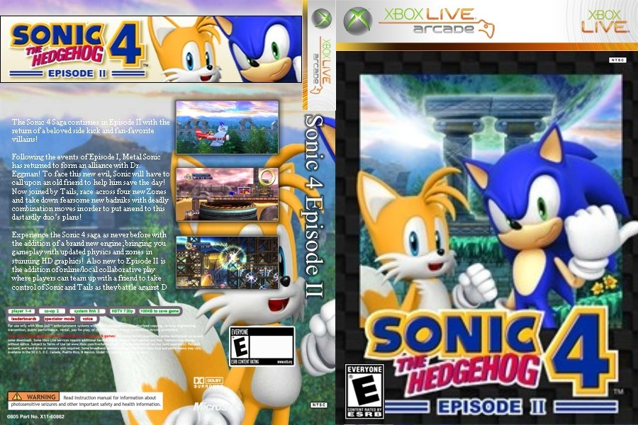 Sonic The Hedgehog 4 Episode Ii Xbox 360 Xbla Aurora Hile Trainer Indir Jtag Rgh Pc Ps3 Ps4 Psp Psvita Nintendo Switch Xbox360 Full Oyun Indirme Sitesi