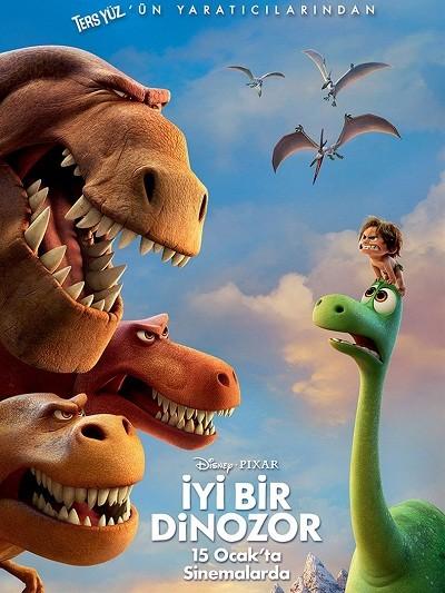 İyi Bir Dinozor - The Good Dinosaur 2015 ( BRRip XviD ) Türkçe Dublaj Tek Link İndir