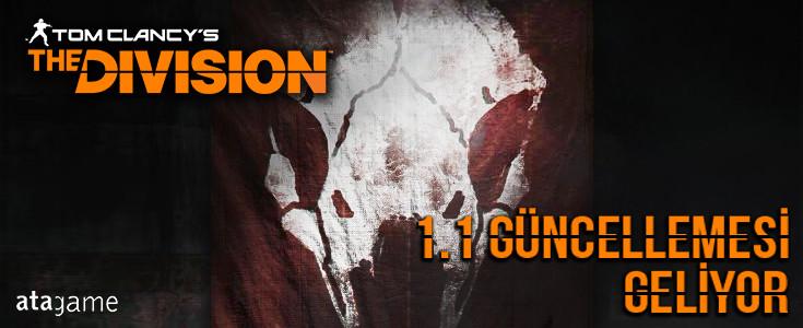 The Division 1.1 Güncellemesi Geliyor