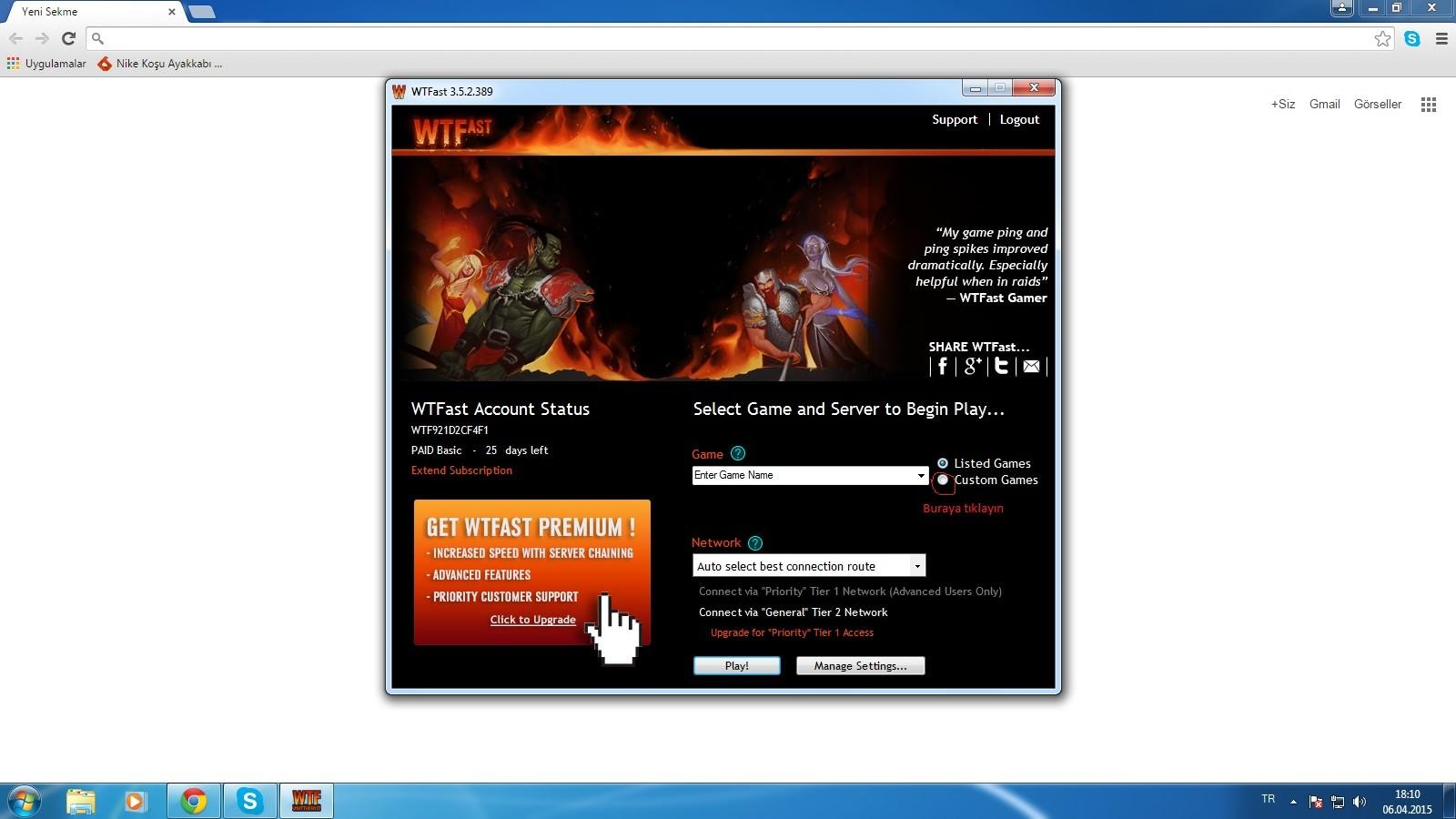 Çin Knight Online Rehberi / Üyelik / İndir / Wtfast [RESİMLİ]