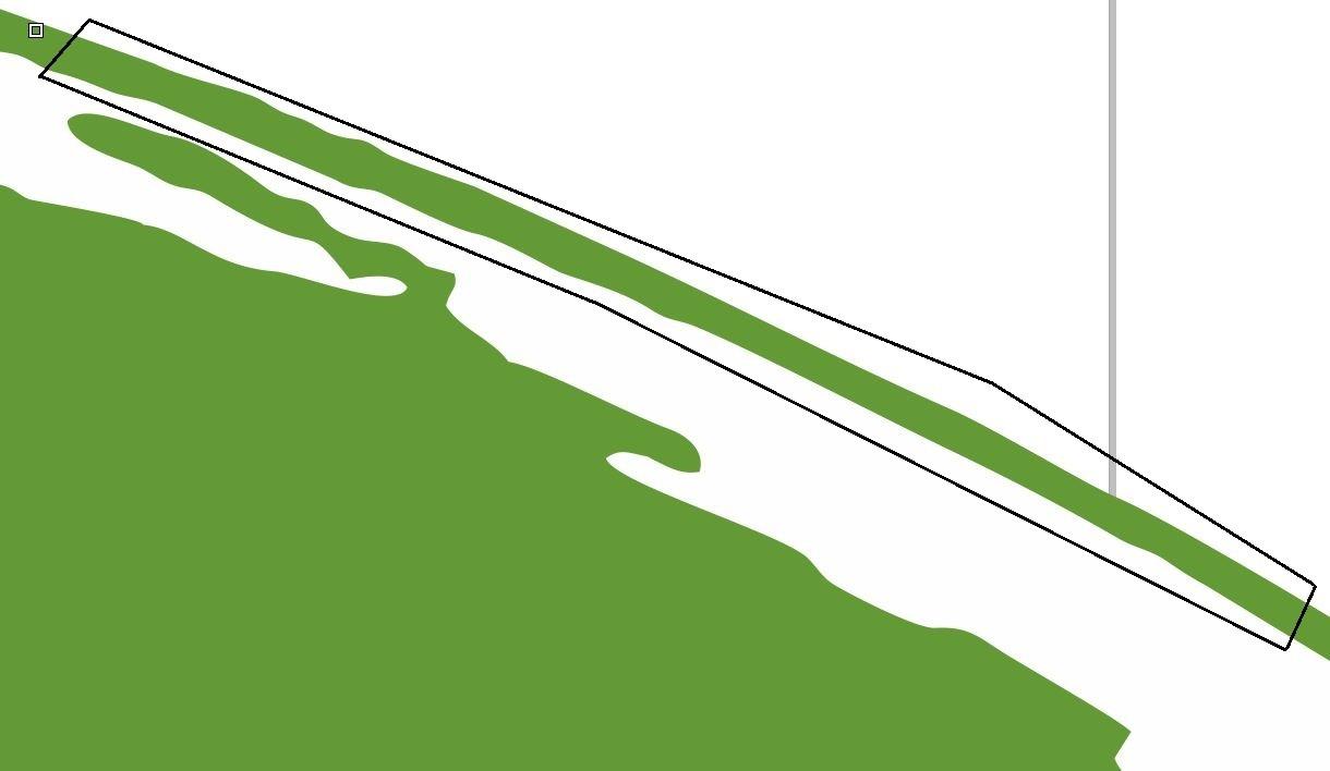 Vektörel çizime çevirme sonrası oluşan kılcal çizgiler ve rötüş işlemi