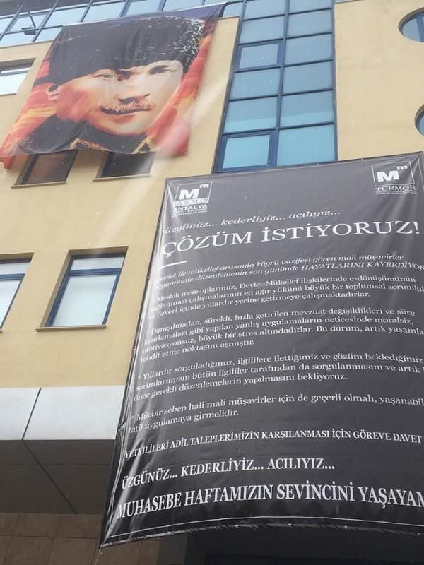 Antalya SMMM Odasından Basın Açıklaması; Çözüm İstiyoruz...