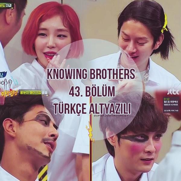 Knowing Brothers 43. Bölüm (Ji Soo, Gain) [Türkçe Altyazılı] LqrJEk