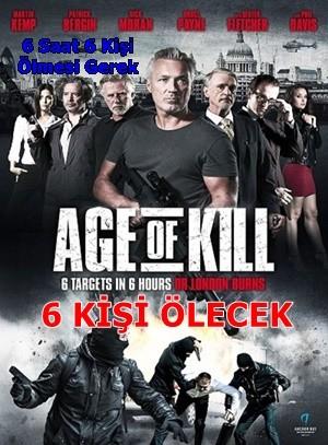 6 Kişi Ölecek – Age of Kill 2015 BRRip XviD Türkçe Dublaj – Tek Link