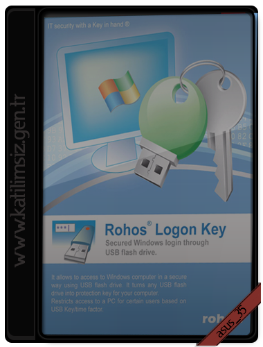 Rohos Logon Key 3.2  // 86 + 64-Bit // Crack + Serial