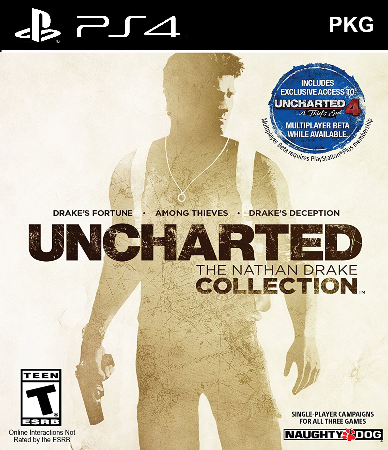 Uncharted: The Nathan Drake Collection PKG Oyun İndir ! [4.05