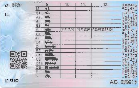 m47oWy - H sınıfı sürücü belgesi ve ÖTV'siz araç alımı için rapor paylaşımları