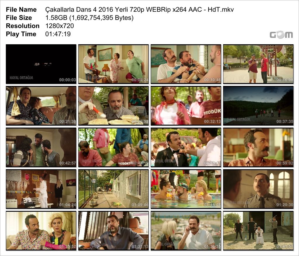 Çakallarla Dans 4 2016 (Yerli Film) 720p WEB-DL