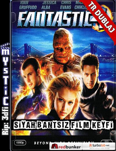 Fantastic Four – Fantastik Dörtlü (2005) (ANAMORPHIC Siyah Bantsız BluRay m1080p) Türkçe Dublajlı hd film indir