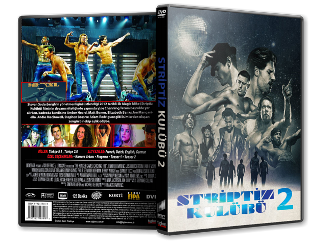 Striptiz Kulübü 2 – Magic Mike XXL 2015 DVD-9 DuaL TR-EN – Tek Link