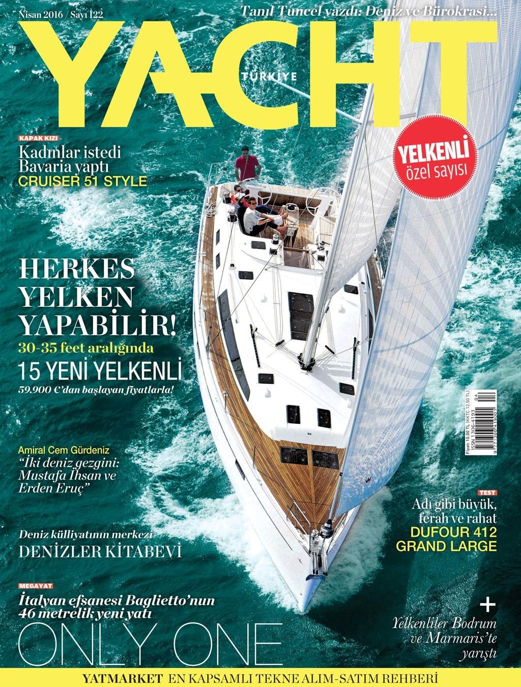 Yacht Nisan 2016 PDF Dergi indir