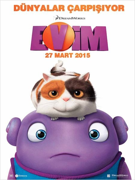Evim - Home (2015) - 3d film indir - türkçe dublaj film indir
