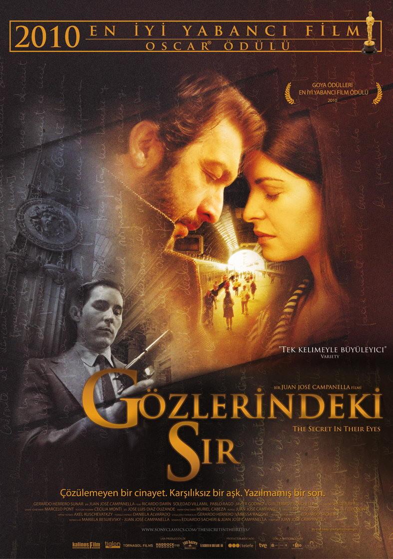 Gözlerindeki Sır - El secreto de sus ojos (2009) - türkçe dublaj film indir