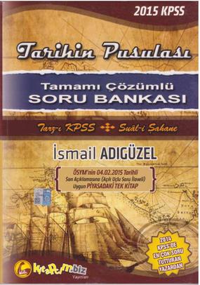 KPSS İsmail Adıgüzel Tarihin Pusulası Soru Bankası indir
