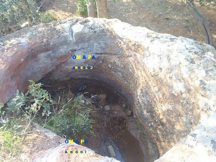 Açılmış Kaya Mezarı bilği amaçlıdır