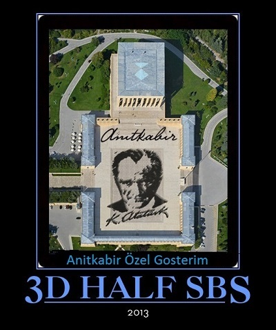 Anitkabir Özel Gosterim  2013 3D HSBS Bluray x264    Tek Link