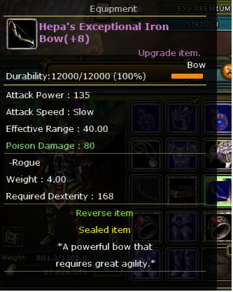 +8 Hepa Exp İron Bow