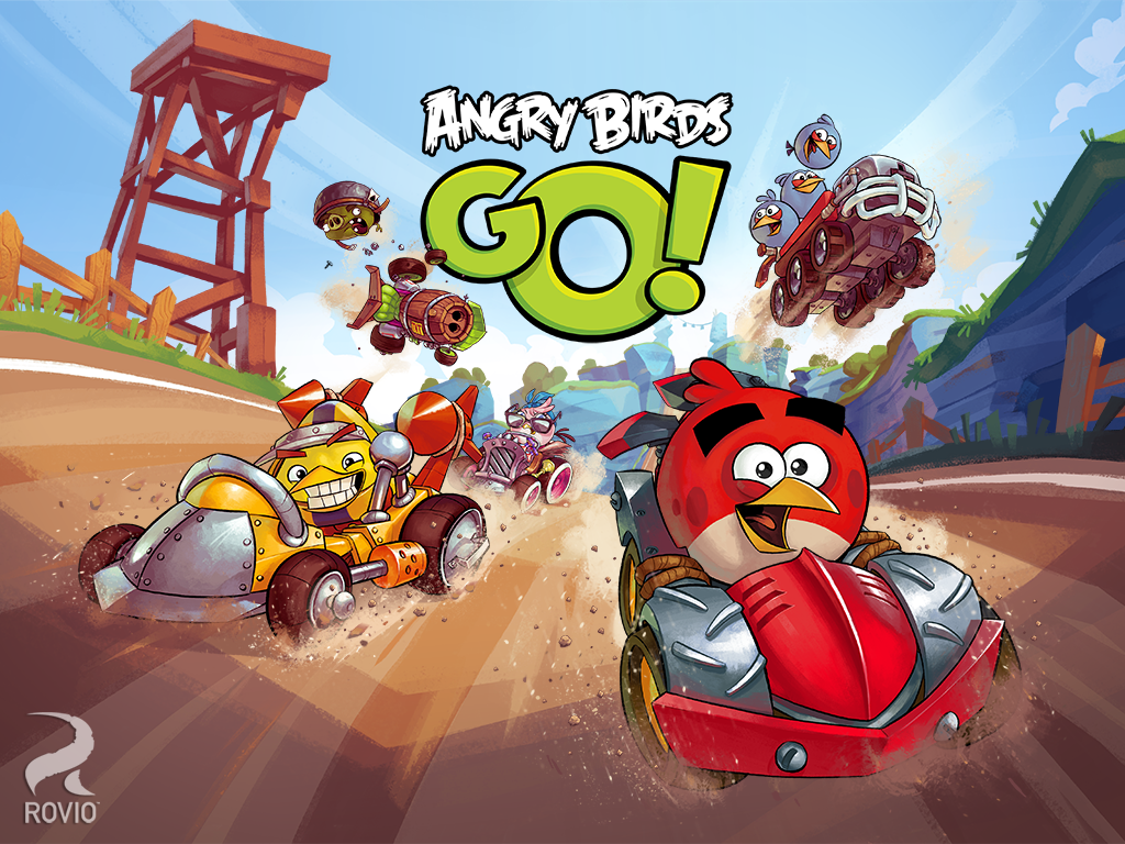 Angry Birds Go Android