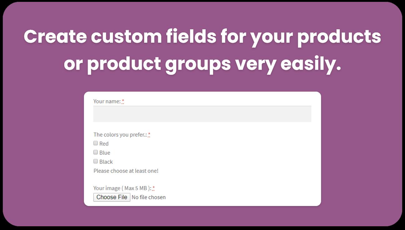 WeasyFields : WooCommerce Easy Custom Fields - 1