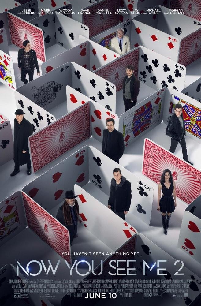 Now You See Me 2: The Second Act - Sihirbazlar Çetesi 2 | 2016 | BRRip XviD AC3-RARBG | Türkçe Altyazı