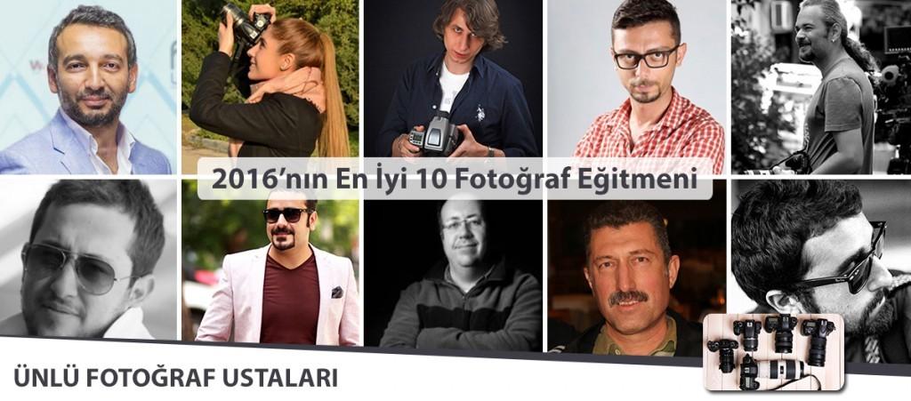Türkiye'nin En İyi 10 Fotoğraf Eğitmeni – Profesyonel Fotoğrafçılar