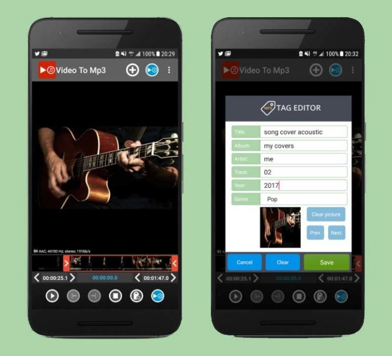 Video to MP3 (Android)