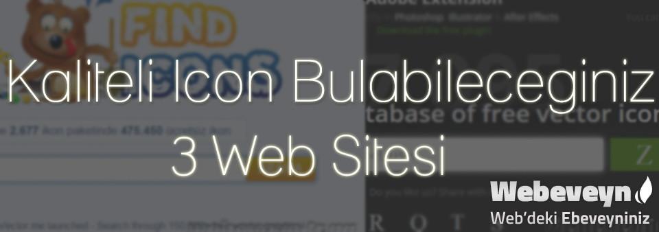 Kaliteli İcon Bulabileceginiz 3 Web Sitesi _webeveyn