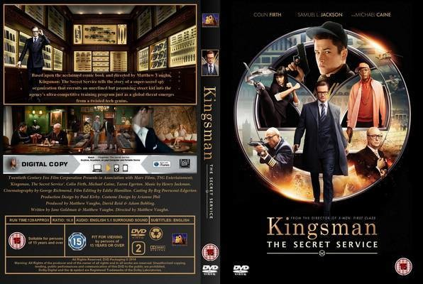 Kingsman: Gizli Servis – Kingsman: The Secret Service 2014 DVD5 DuaL TR-EN – Tek Link