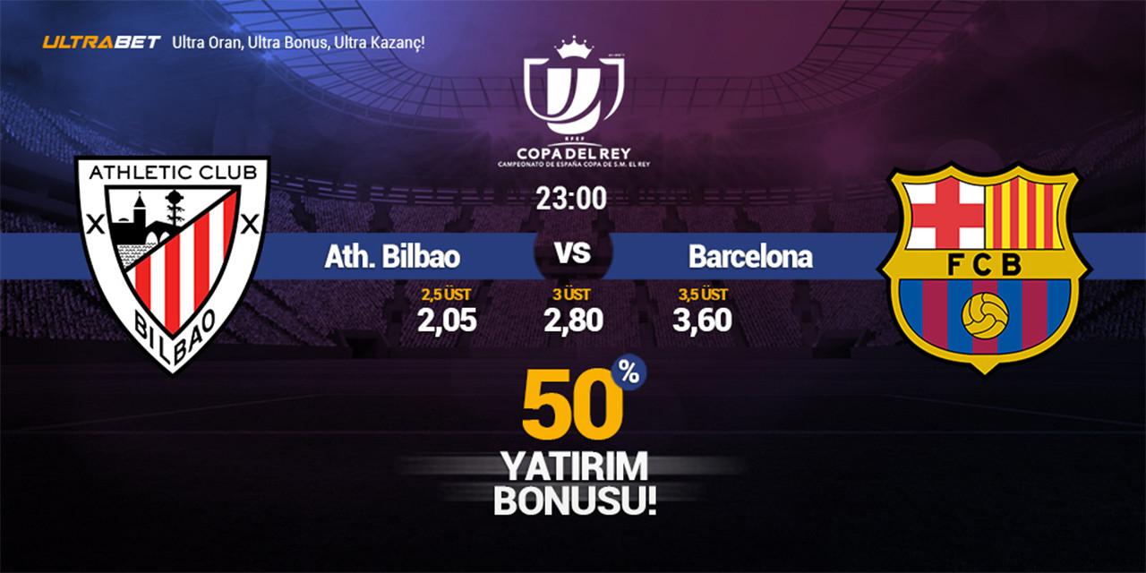Athletic Bilbao – Barcelona Canlı Maç İzle