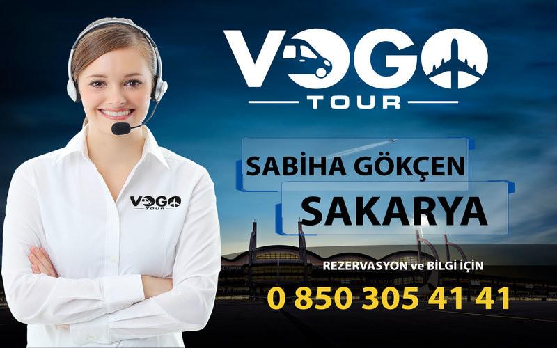 Sakarya Sabiha Gökçen Servis Hizmetleri - Vogo Tour MXRkzy