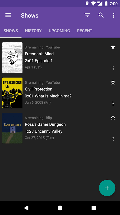 SeriesGuide Android