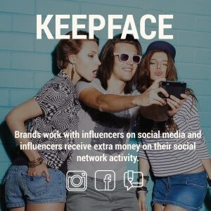 keepface sosyal medya reklam