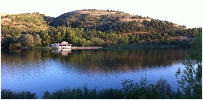 odtü eymir gölü