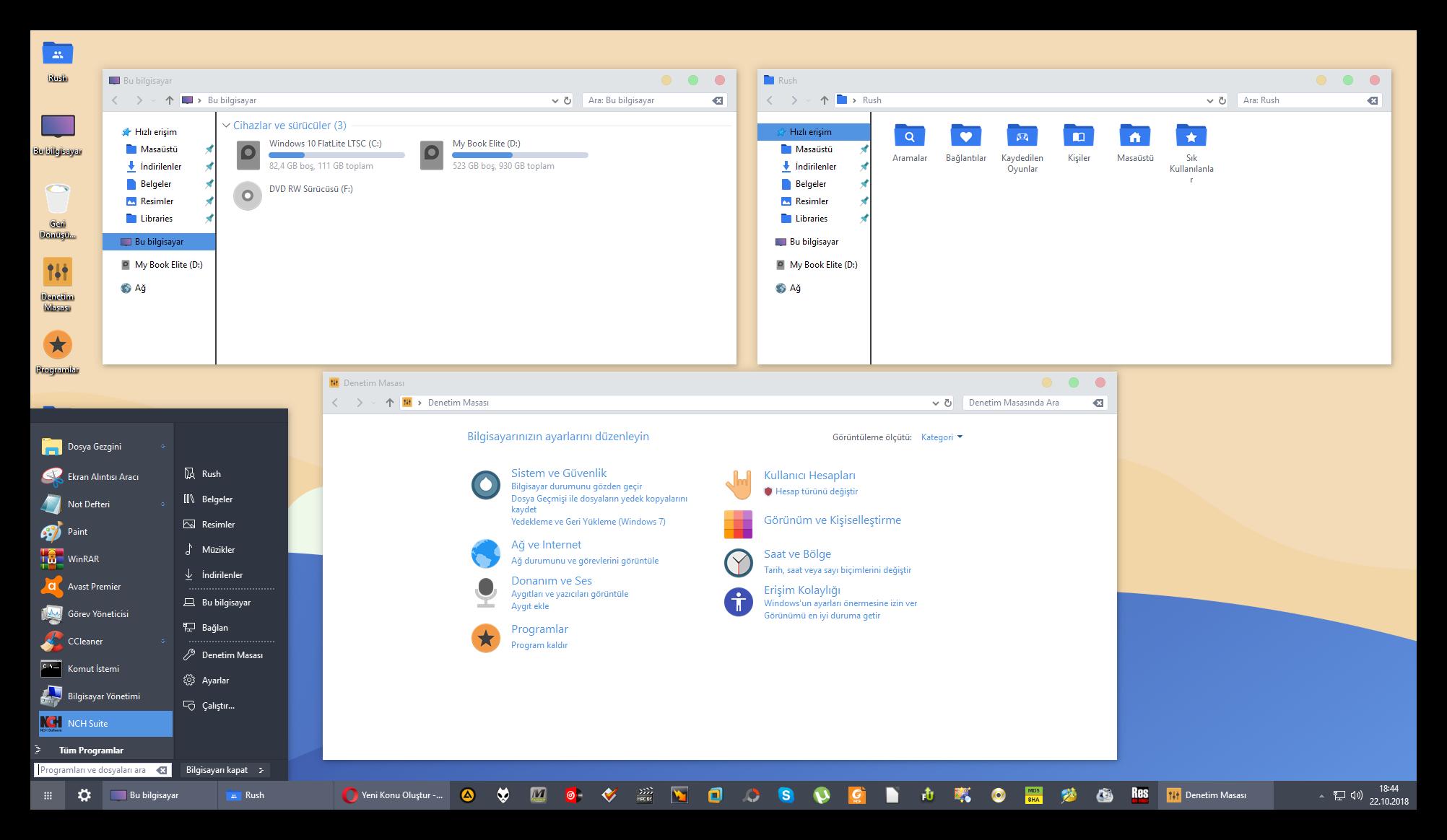 Windows 10 Rs5 Flatlite Ltsc X64 Tr - Windows 10 - TNC-TR