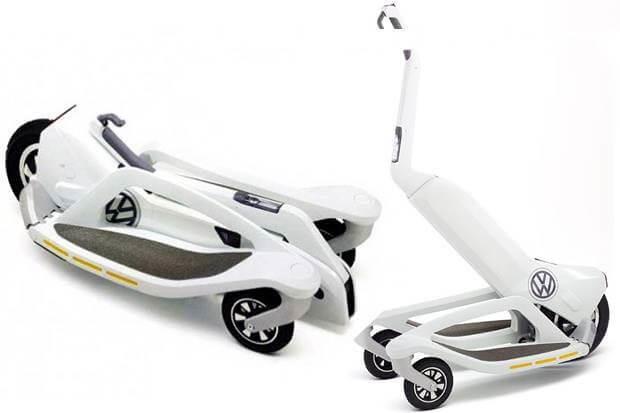Volkswagen elektrikli scooter
