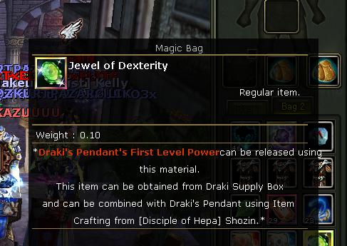 Jewel of Dexterity