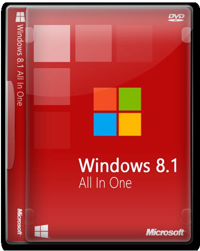 Windows 8.1 Update 3 Türkçe | 16in1 | Tüm Sürümler | Eylül 2016 | Güncel